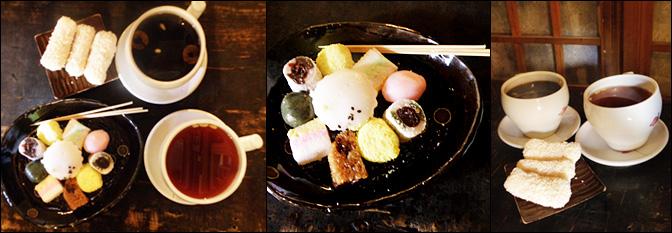茶点,只喝传统